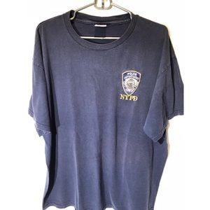 Shirts - MEN'S 💪🏼 NYPD DECAL TEE